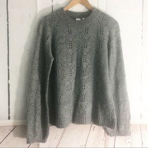 Gap • Super Soft Open Knit Sweater